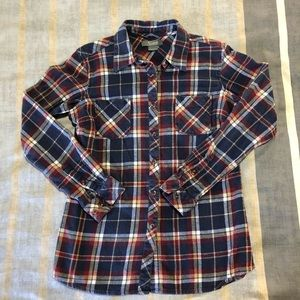 Natural Reflections Flannel Shirt. Size Small.